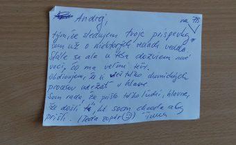 Čo mi dala prednáška Andreja Medveďa?